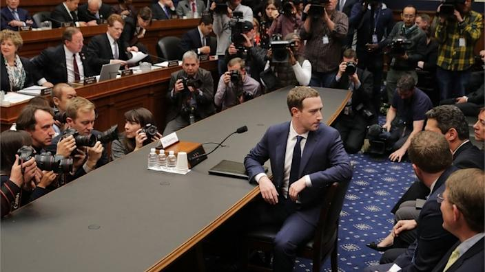 Mark Zuckerberg was memorably questioned on Capitol Hill in 2018