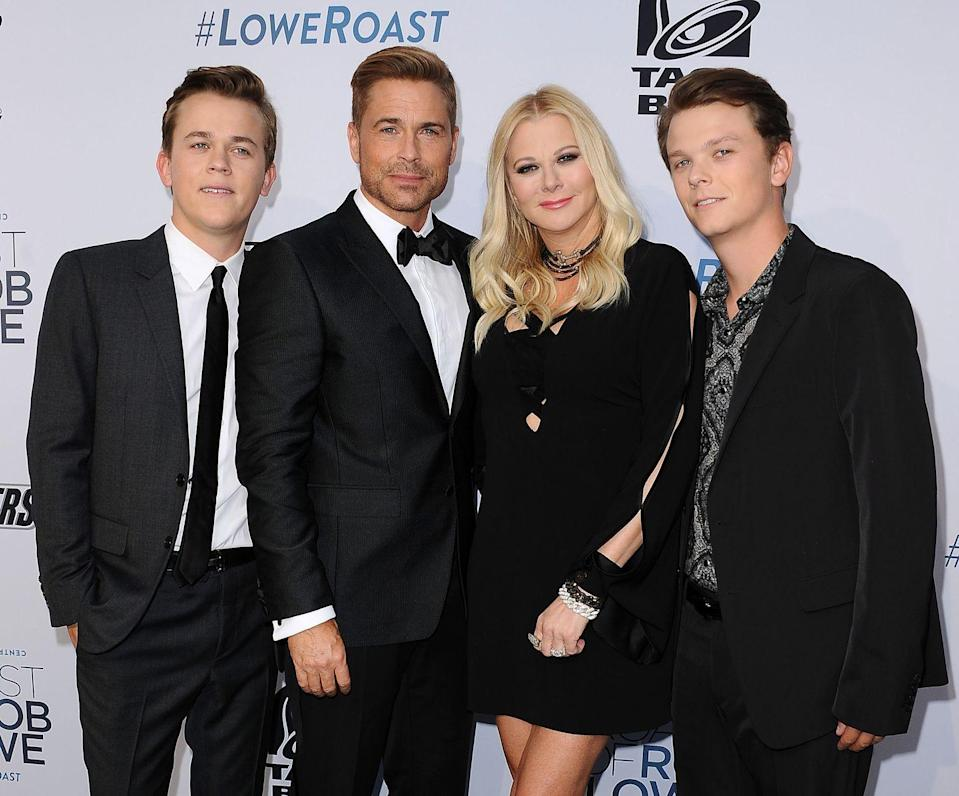 <p>Rob Lowe has evidently passed his good genes on to his two sons. Both Matthew Edward and John Owen have also followed in his footsteps and pursued careers in acting, even teaming up together for a few projects.</p>