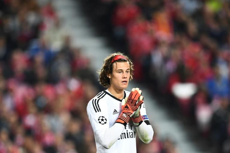 Benfica's goalkeeper Mile Svilar became the youngest goalkeeper to start a Champions League game aged just 18 years and 52 days on October 18, 2017