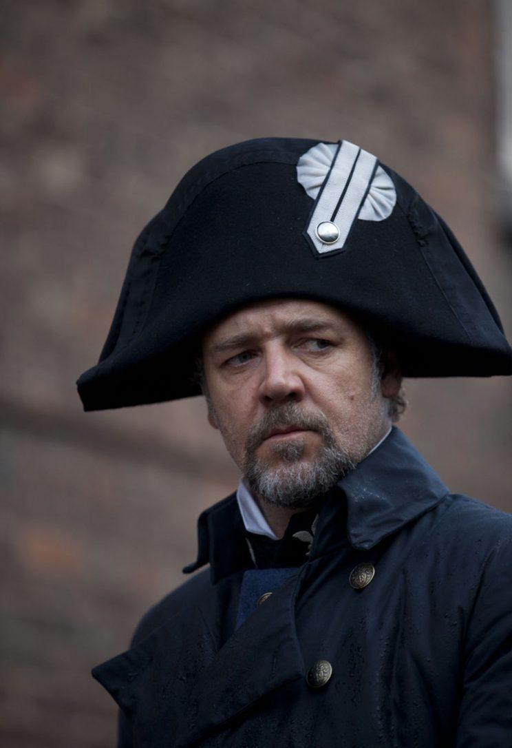 Russell Crowe in the 2012 version of Les Miserables (Rex)