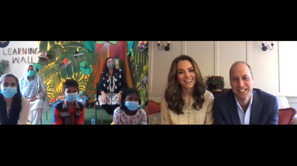 Kate Middleton's Secret Talent Revealed by Prince William in Video Chat with Pakistan Schoolgirls
