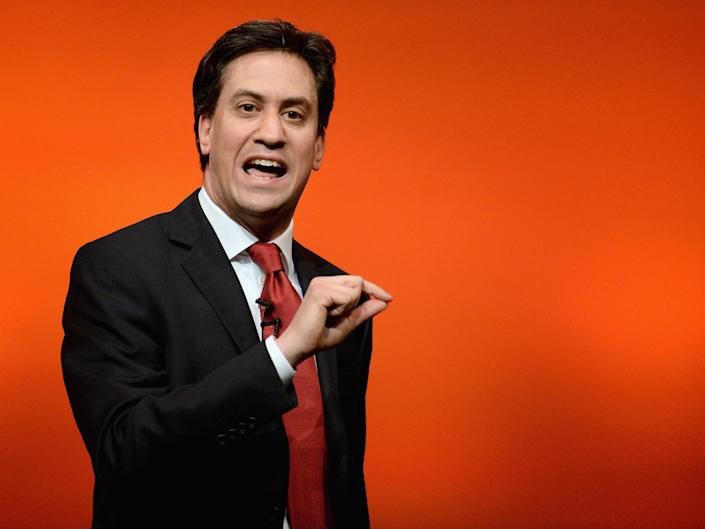 Ed Miliband is promoting a new low-budget documentary, the Divide, which explores the wealth gap: Getty
