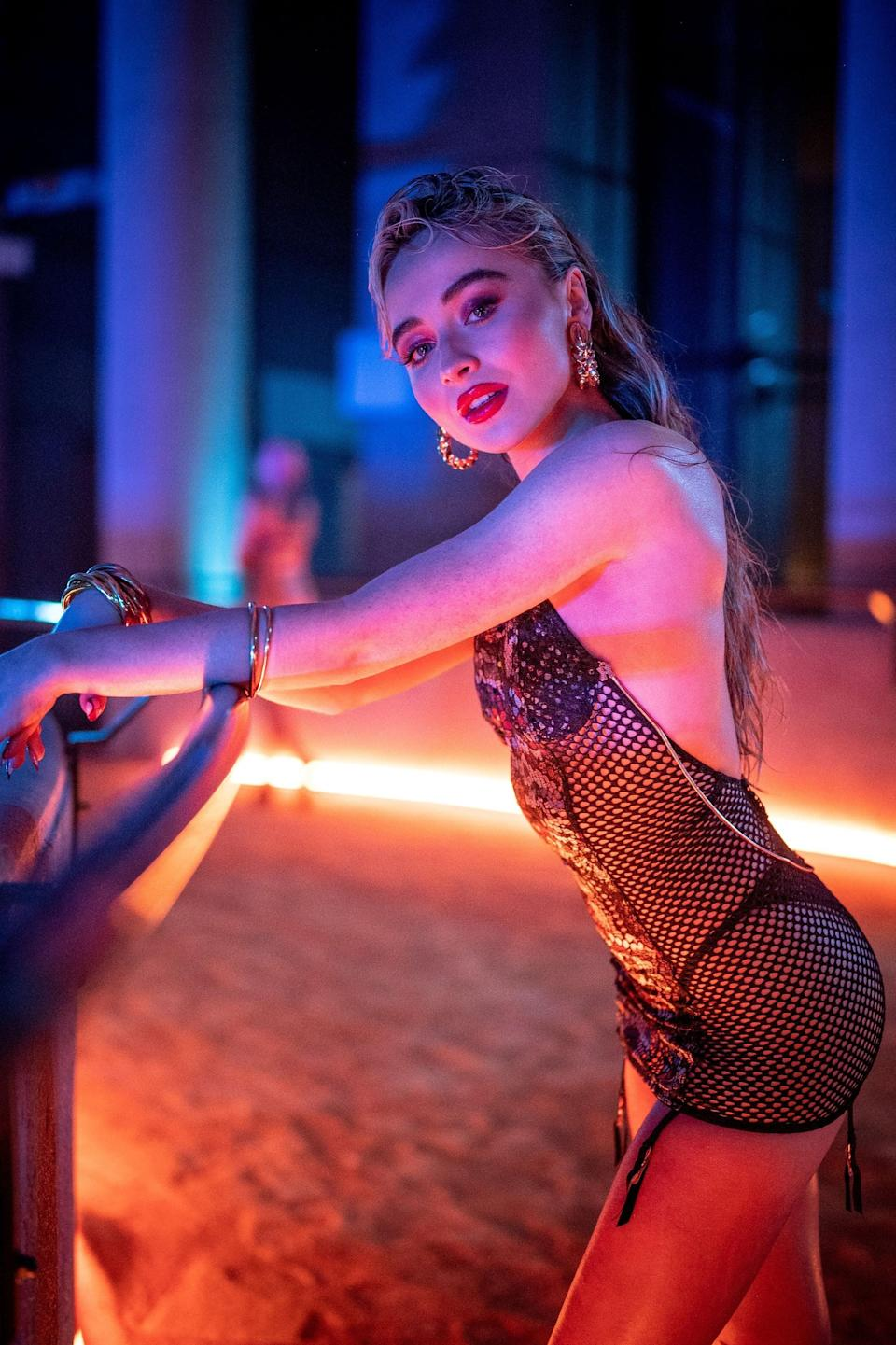 <p>The actress and singer looked incredible in her lacy look.</p>