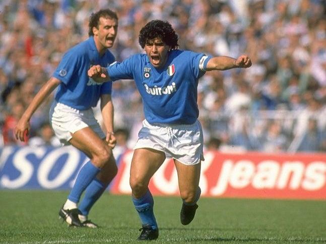 <p>Maradona remains an icon in Naples</p>Getty Images