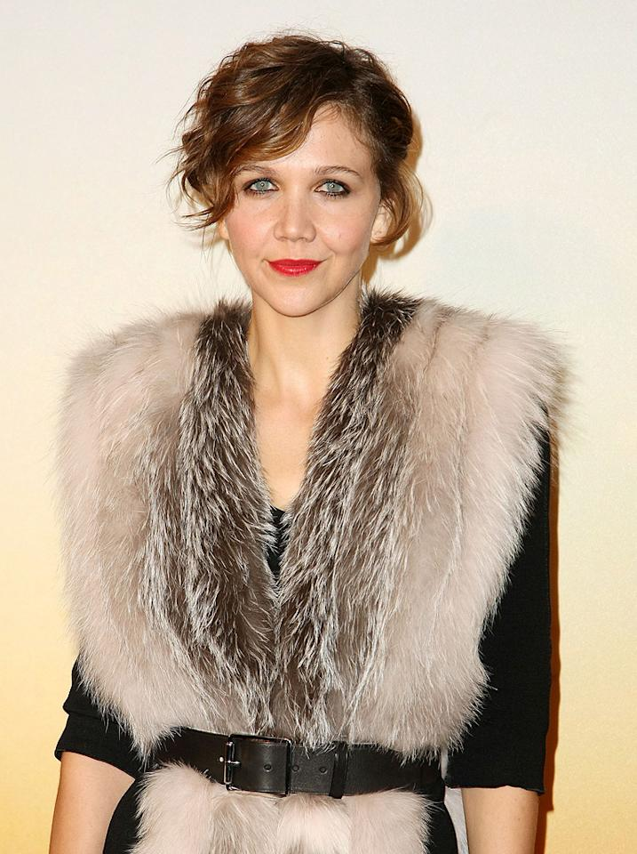 "<a href=""http://movies.yahoo.com/movie/contributor/1800360995"">Maggie Gyllenhaal</a> at the MoMa Film benefit gala honoring Baz Luhrmann in New York - 11/10/2008"