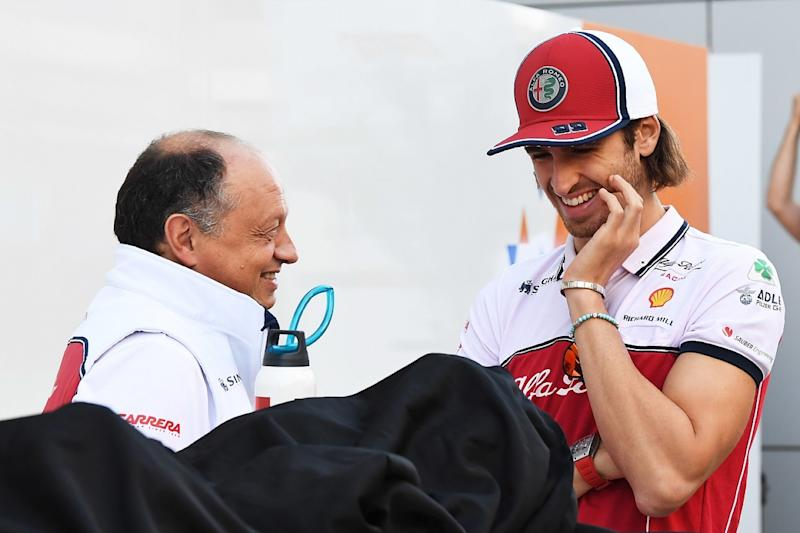 Giovinazzi's late Spa crash could've cost him seat