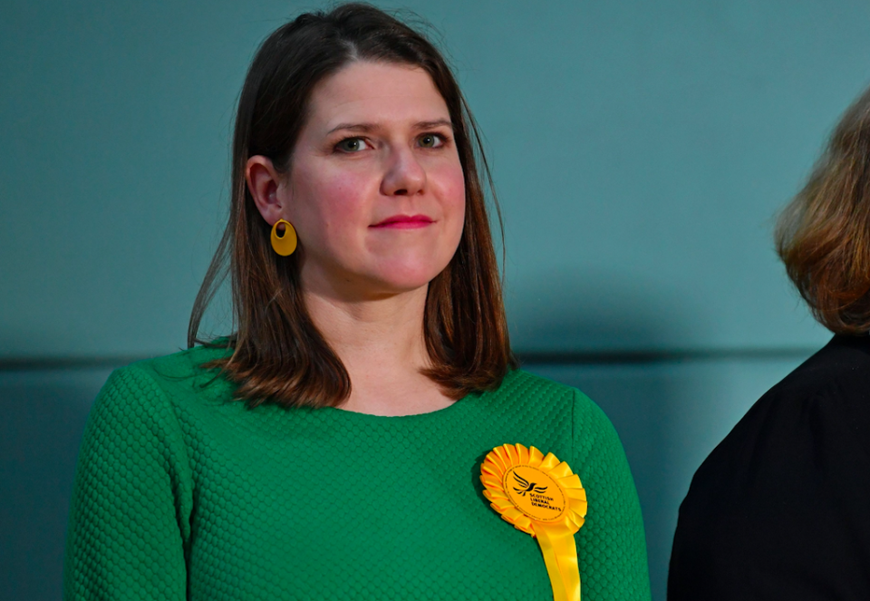 Since becoming the leader of the Liberal Democrats this year, Jo Swinson has become a person of interest. Unfortunately for Ms Swinson, her popularity plummeted the more people saw of her and she ended the year losing her seat in the General Election. (Getty)