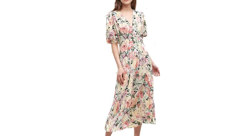 Faithfull The Brand Vittoria Floral-Print Dress