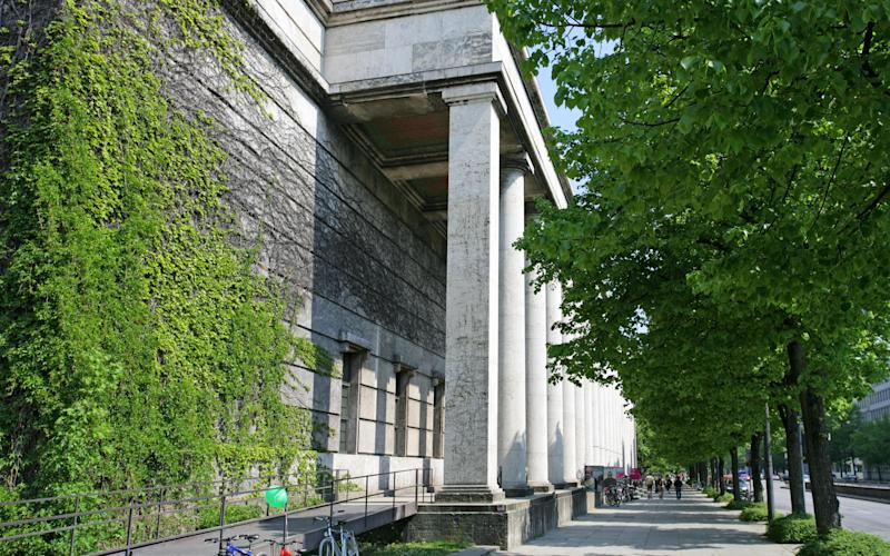 Haus der Kunst museum and art gallery in Munich - Credit: Peter Widmann / Alamy Stock Photo