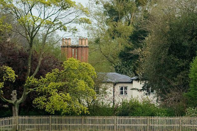 A general view of Frogmore Cottage at Frogmore Cottage on April 10, 2019 in Windsor, England.