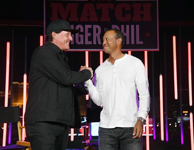 Tiger Woods, Phil Mickelson likely to play 'The Match' in 2019, 2020