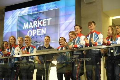LSE opened by Olympic team
