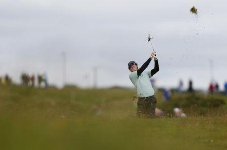 FILE PHOTO - Irish Open - Royal Portrush Golf Club, Dunluce Road, Portrush, County Antrim, Northern Ireland - 29/6/12 Dylan Frittelli of South Africa during the second round Mandatory Credit: Action Images / Paul Harding Livepic