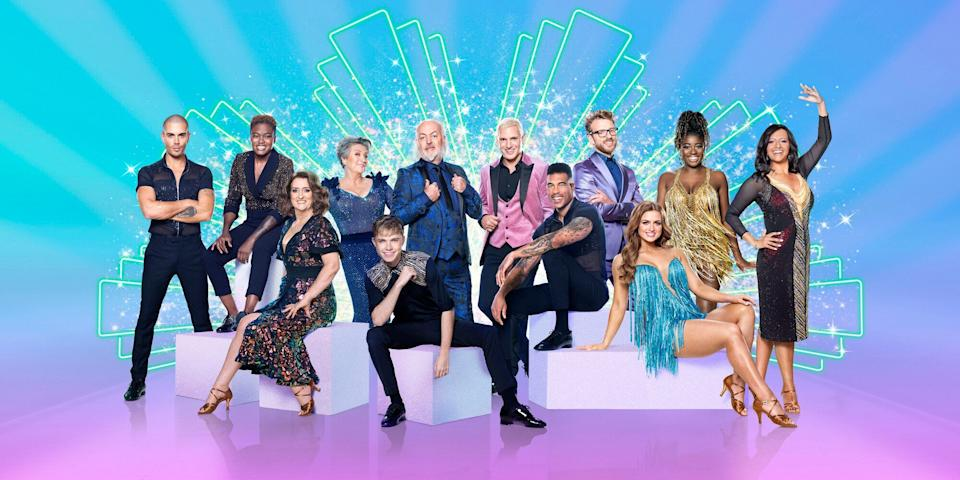 This year's Strictly Come Dancing cast (Photo: BBC)