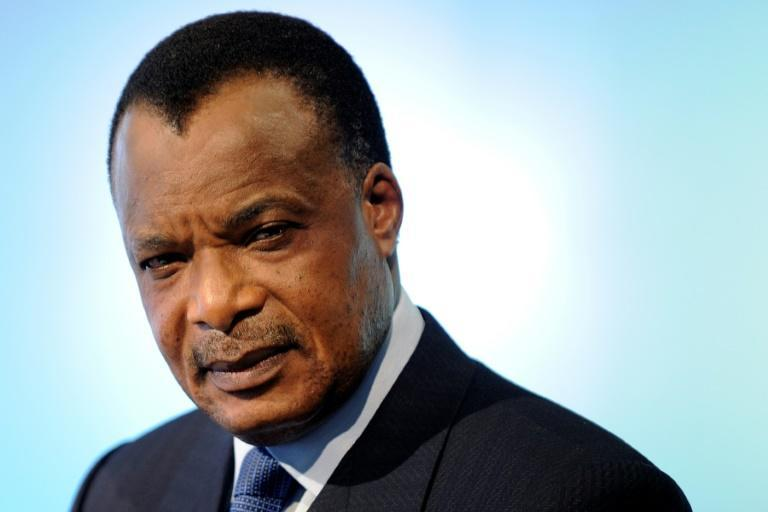 President Denis Sassou Nguesso is seeking a fourth term on Sunday