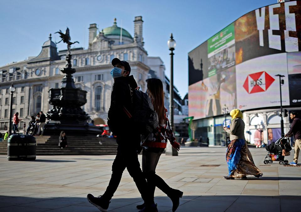 <p>The R-rate of infection may have increased since last week</p> (AFP via Getty Images)