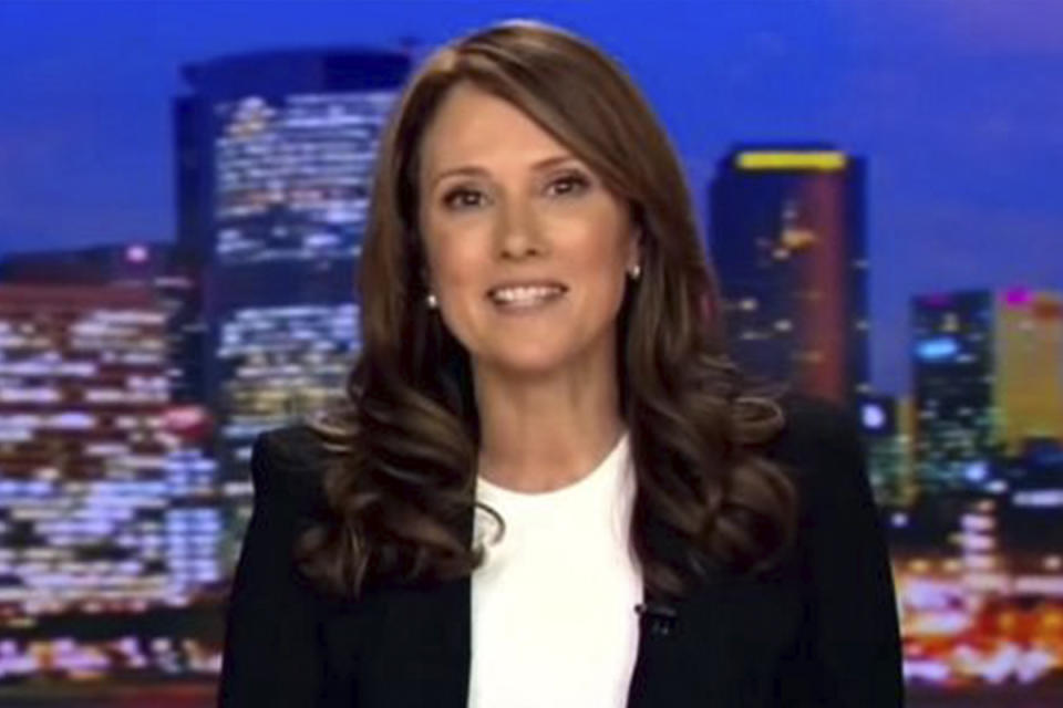 Chris wrapped up 20 years with Seven News in 2015 with her final bulletin. Photo: Channel 7.