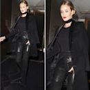<p>Bringing mature model style to the streets in leather pants.</p><p>Instagram.com/redcarpetman</p>