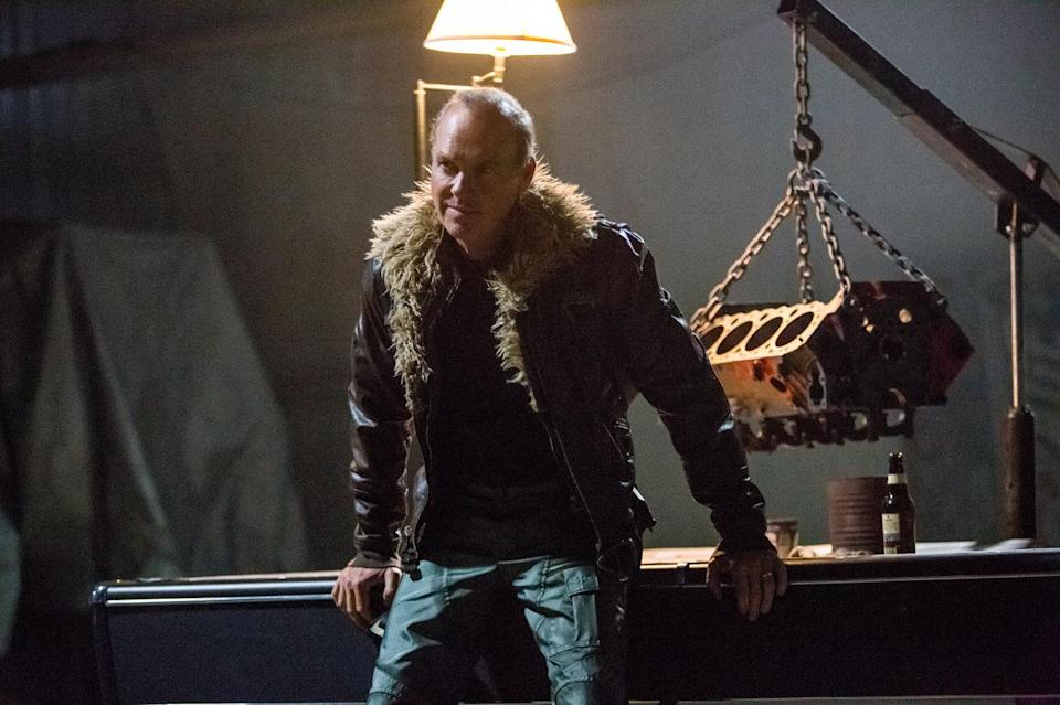 Michael Keaton as Vulture in Spider-Man: Homecoming (Credit: Sony)