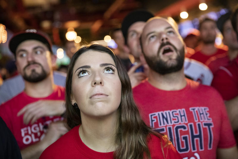 World Series Game 7 ratings were down compared to past Game 7s, but streaming numbers set a record. (Photo by Samuel Corum/Getty Images)