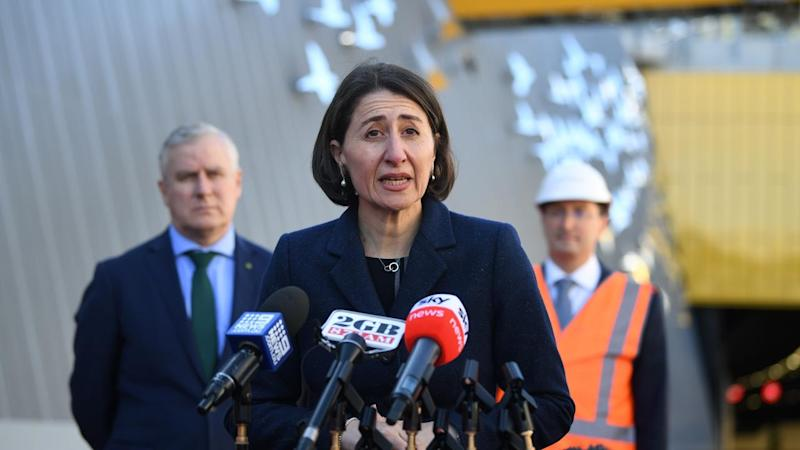 NSW Premier Gladys Berejiklian has cautioned against travelling to Melbourne due to a virus spike