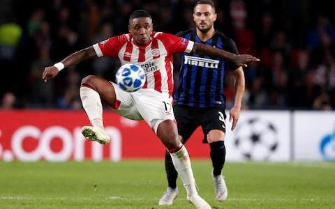 <span>Winger Steven Bergwijn has started the Eredivisie season strongly</span> <span>Credit: Soccrates Images/Getty Images </span>