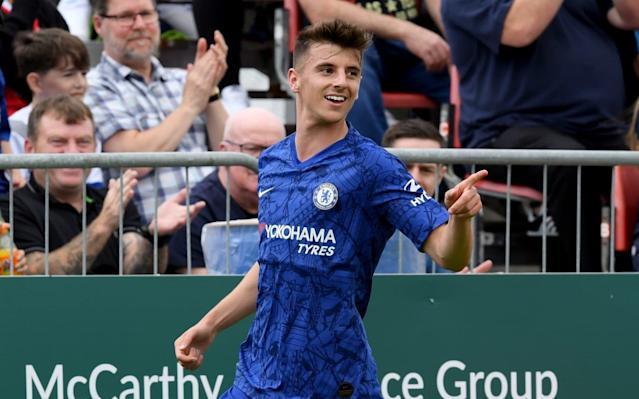 Chelsea have now made sure Mount is committed to the club until at least 2024 - Chelsea FC