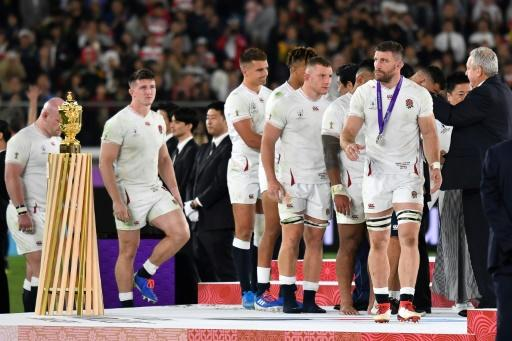 Eddie Jones said England are scarred after losing the World Cup final but to deal with it will by playing rugby of 'absolute britality'