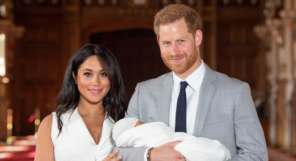 Meghan Markle and Prince Harry are to have their son baptised in St George's Chapel [Image: Getty]