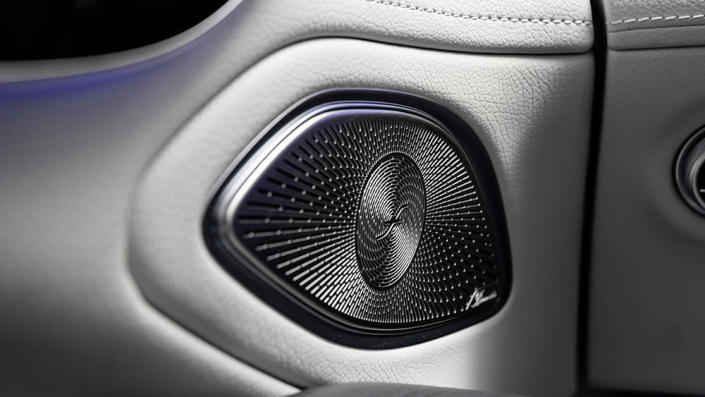 The vehicle's speakers which play sounds using the Burmester 3D sound system. - Credit: Mercedes-Benz