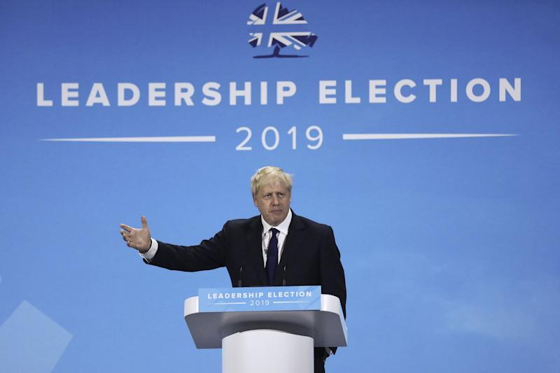 "(Bloomberg) -- Boris Johnson, the favorite to succeed Theresa May as U.K. prime minister, said a trade deal won't be reached with the U.S. soon after Brexit, predicting discussions will be ""tough"" and ""robust.""""A deal with the U.S. is not going to be done in a trice,"" Johnson said late Wednesday at a Tory hustings event in London. ""It's not going to be something that adds several percentage points to U.K. GDP, but it will substantially boost our GDP over time,"" he said, adding: ""it's not something that's going to be done instantly.""Johnson's latest comments seek to manage expectations on what can be achieved early in his premiership, if, as widely predicted, he beats Foreign Secretary Jeremy Hunt to the Conservative Party leadership next week. A U.S. trade deal was held up by Brexit campaigners -- including Johnson -- as one of the great prizes of leaving the European Union, and the Times reported earlier this week that Johnson would seek a limited agreement with the world's biggest economy soon after Brexit.""The U.S. are very tough negotiators, and we will also have to be very tough,"" Johnson said. They will ""make some very robust demands, and we've got to be prepared to be very robust in exchange, and we certainly will be.""Brexit Deal 'Dead'Johnson also said the Withdrawal Agreement that May struck with the EU is ""dead"" and ""needs to be junked."" Hunt told the same audience that he'll leave ""no stoned unturned"" to get a new Brexit deal with the EU, but that the backstop -- a fallback position to guarantee the border with Ireland remains open -- ""has to go.""In what's likely to be her last set-piece speech as premier, May on Wednesday warned against the ""absolutism"" and failure to compromise that meant her Brexit deal was unable to win the support of Parliament. ""When opinions have become polarized and driven by ideology it becomes incredibly hard for compromise to become a rallying point,"" she said.May's successor will be announced next week, and the new prime minister will face the same Parliamentary math that saw her Brexit deal rejected three times in the House of Commons. Both candidates have said they'll seek a new deal -- something the EU has indicated won't be available.In a sign of the difficulties the new premier will face, the government faces a showdown in Parliament on Thursday, with the House of Commons set to vote on a measure intended to stop May's successor from suspending Parliament to force through a no-deal Brexit. The provision was added to a bill on governance in Northern Ireland by the House of Lords on Wednesday.It sets specific times when Parliament must be sitting to receive reports on progress made toward restoring the power-sharing government of Northern Ireland. As a result it will be difficult for Parliament to be suspended, or ""prorogued,"" as the process is known. The Lords amendment built on a change to the bill that earlier scraped through the House of Commons by a single vote -- suggesting it will be tight again Thursday.Hunt has said he wouldn't suspend Parliament, though Johnson has failed to rule it out. He added to speculation that he might take that course of action in the hustings on Wednesday by refusing to comment on the timing of a new legislative program to be laid out in a Queen's Speech. Traditionally a fresh legislative session is started by such a speech, with Parliament suspended a fortnight in advance.Hunt, for his part said if he lost, it would be ""a huge honor"" to serve in Johnson's cabinet.Johnson also:Suggested he sees signs of the Parliamentary math changing, saying he thinks ""MPs are now psychologically ready to get this thing over the line.""Told ITV he envisages a ""standstill period"" of zero tariffs and zero quotas with the EU after Brexit. It would end ""in the next couple of years"" and ""well before the next election.""Said if the EU won't give the U.K., such a standstill period, ""O.K. fine, we'll have to live with it.""To contact the reporters on this story: Alex Morales in London at amorales2@bloomberg.net;Kitty Donaldson in London at kdonaldson1@bloomberg.netTo contact the editors responsible for this story: Tim Ross at tross54@bloomberg.net, Robert JamesonFor more articles like this, please visit us at bloomberg.com©2019 Bloomberg L.P."