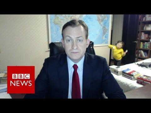 "<p>Play snippets of viral videos (like this classic BBC News moment) and pause it right before the main moment happens, asking players what happens next in the viral video.</p><p>Many video conference apps like Zoom and Google Hangout let you share your screen so you can play the clip to players.</p><p><a href=""https://www.youtube.com/watch?v=Mh4f9AYRCZY"" rel=""nofollow noopener"" target=""_blank"" data-ylk=""slk:See the original post on Youtube"" class=""link rapid-noclick-resp"">See the original post on Youtube</a></p>"