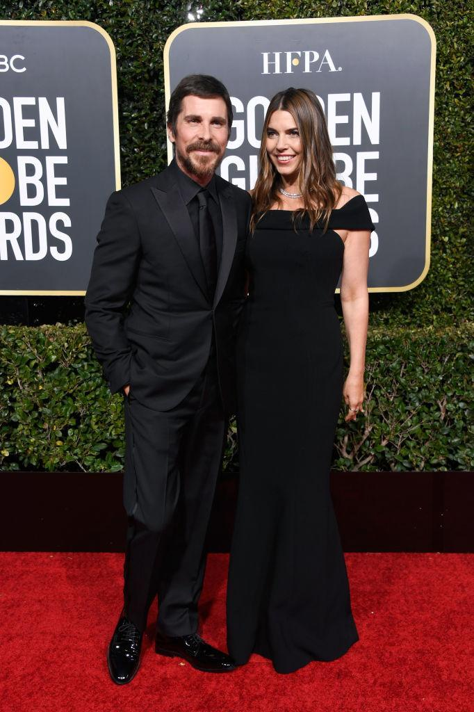 <p>Christian Bale and Sibi Blazic attend the 76th Annual Golden Globe Awards at the Beverly Hilton Hotel in Beverly Hills, Calif., on Jan. 6, 2019. (Photo: Getty Images) </p>