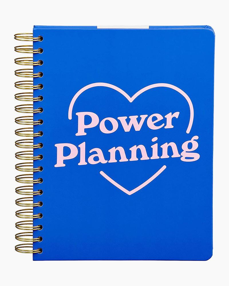 """<h3><a href=""""https://www.thepaperstore.com/p/ww-planner-power-planning/54327200005"""" rel=""""nofollow noopener"""" target=""""_blank"""" data-ylk=""""slk:Yes Studio Power Planning Goal Planner"""" class=""""link rapid-noclick-resp"""">Yes Studio Power Planning Goal Planner</a></h3><br><strong>Deal: 10% off first purchase with email signup</strong><br><br>If dates aren't your thing, then this date-less power planner has you covered (no matter the year) with title pages, hourly scheduling areas, and sections for everything from daily doodles to notes and to-dos. <br><br><strong>Wild and Wolf</strong> Yes Studio Power Planning Goal Planner, $, available at <a href=""""https://go.skimresources.com/?id=30283X879131&url=https%3A%2F%2Fwww.thepaperstore.com%2Fp%2Fww-planner-power-planning%2F54327200005"""" rel=""""nofollow noopener"""" target=""""_blank"""" data-ylk=""""slk:The Paper Store"""" class=""""link rapid-noclick-resp"""">The Paper Store</a>"""