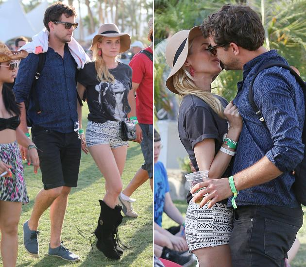 diane kruger und joshua jackson fr hlingsgef hle beim coachella festival. Black Bedroom Furniture Sets. Home Design Ideas