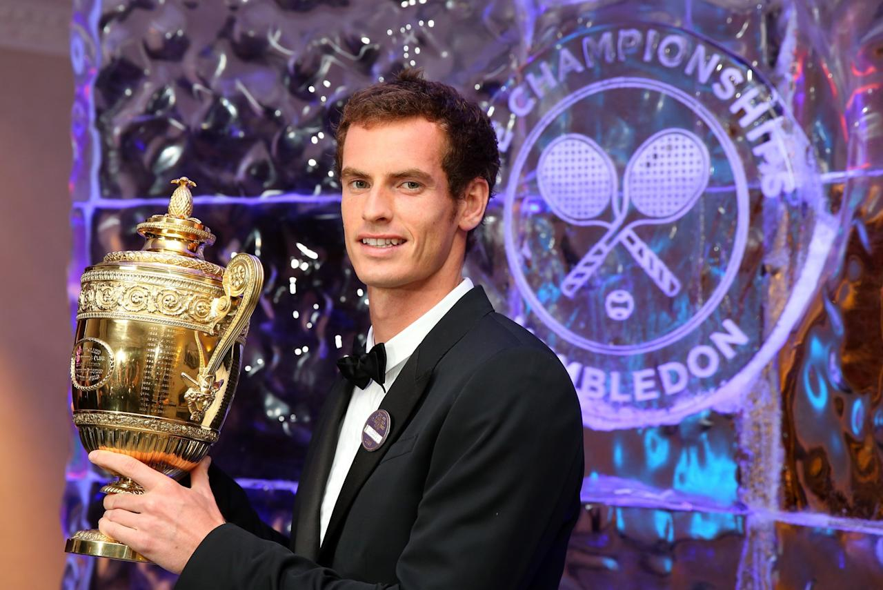<p>Andy Murray ended Britain's 77-year wait for a men's Wimbledon champion in 2013 when he beat Novak Djokovic. </p>