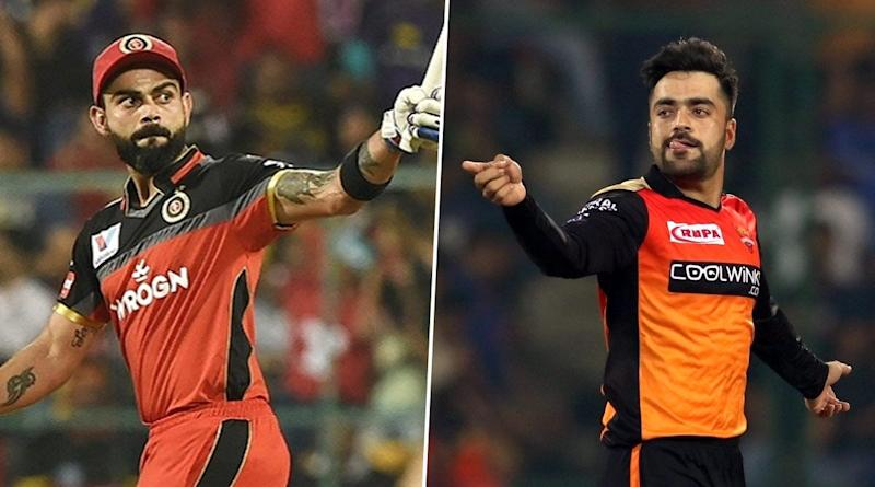 SRH vs RCB Dream11 IPL 2020: Virat Kohli vs Rashid Khan & Other Exciting Mini-Battles to Watch Out for in Indian Premier League Match 3