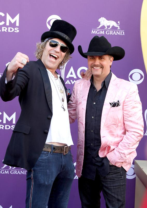 BIG & RICH, Live from the RAM Red Carpet, 47th Annual ACM Awards, Las Vegas, NV