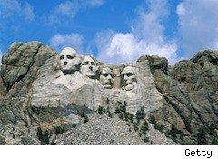 Mount Rushmore - presidents' day sales