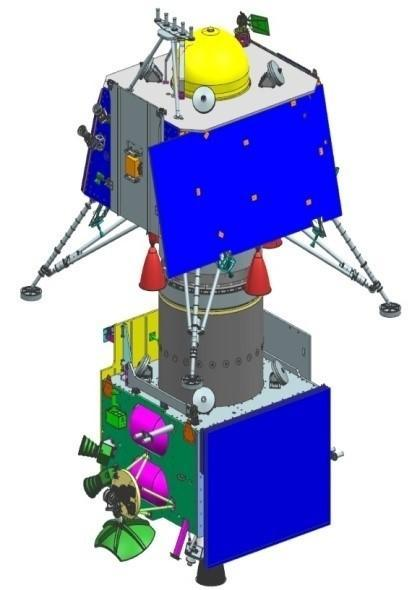 A nation watched with bated breath as India's lunar mission, Chandrayaan 2 attempted a soft landing on the lunar surface on September 6, 2019. The indegenous vehicle, which consisted of a lunar orbiter, the Vikram lander and Pragyan lunar rover, entered the Moon's orbit on August 20th, 2019. If successful, India would have been the fourth nation to complete a lunar soft landing, and the first to explore the Moon's South Pole. The lander, Vikram, however deviated from its original trajectory and all communications were lost. While ISRO is still analysing what went wrong, Minister of State for the department of atomic energy, Jitendra Singh, stated that the Chandrayaan 2's Vikram lander's braking thrusters failed and it hard landed around 500 metres of the designated landing site, leading to the loss in communication. All is not lost, though, as all the eight scientific instruments are still functioning and are providing valuable scientific data, as per Singh. <em><strong>Image credit: </strong></em>By Department of Space (GODL-India), GODL-India, https://commons.wikimedia.org/w/index.php?curid=83584145