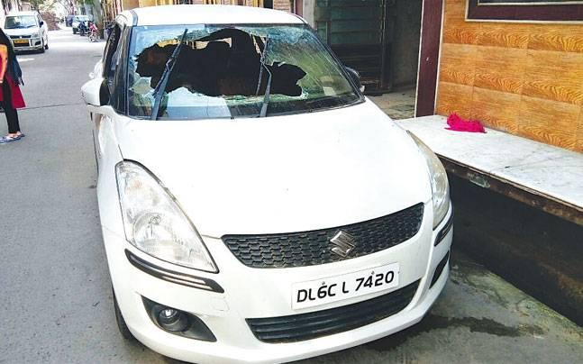 Delhi: Toddler sisters playing in father's car suffer burn injuries after it catches fire