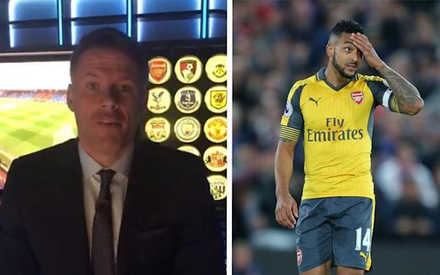 Jamie Carragher absolutely tore into Arsenal