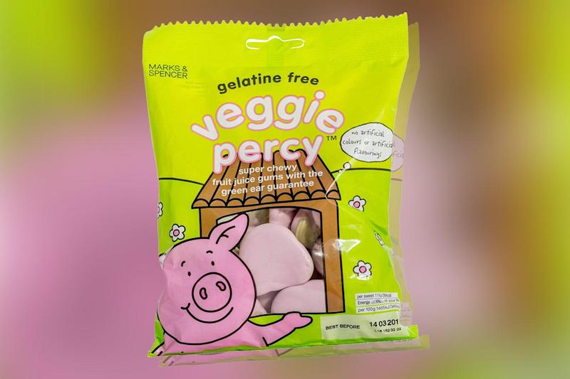 "In 2011, M&S introduced a vegetarian version – 'Veggie Percy' – so ""even more people could enjoy them"""