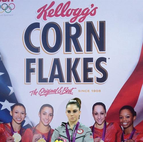 McKayla Maroney is not impressed with endorsements.
