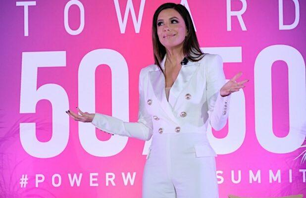 Eva Longoria On the Need For Latinas to 'Find Their Voices Amplified' | Video
