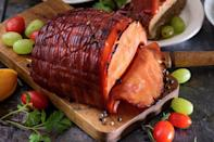 """<p>Want to add some spice to your life? Add a touch of curry powder to your glazed ham. This recipe also makes the perfect base for a world-class ham sandwich.</p> <p><a href=""""https://www.thedailymeal.com/recipes/curried-glazed-canadian-bacon-or-ham-recipe?referrer=yahoo&category=beauty_food&include_utm=1&utm_medium=referral&utm_source=yahoo&utm_campaign=feed"""" rel=""""nofollow noopener"""" target=""""_blank"""" data-ylk=""""slk:For the Curried Glazed Canadian Bacon or Ham recipe, click here."""" class=""""link rapid-noclick-resp"""">For the Curried Glazed Canadian Bacon or Ham recipe, click here.</a></p>"""