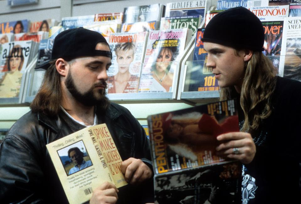 Kevin Smith and Jason Mewes in 'Mallrats' (Gramercy Pictures)