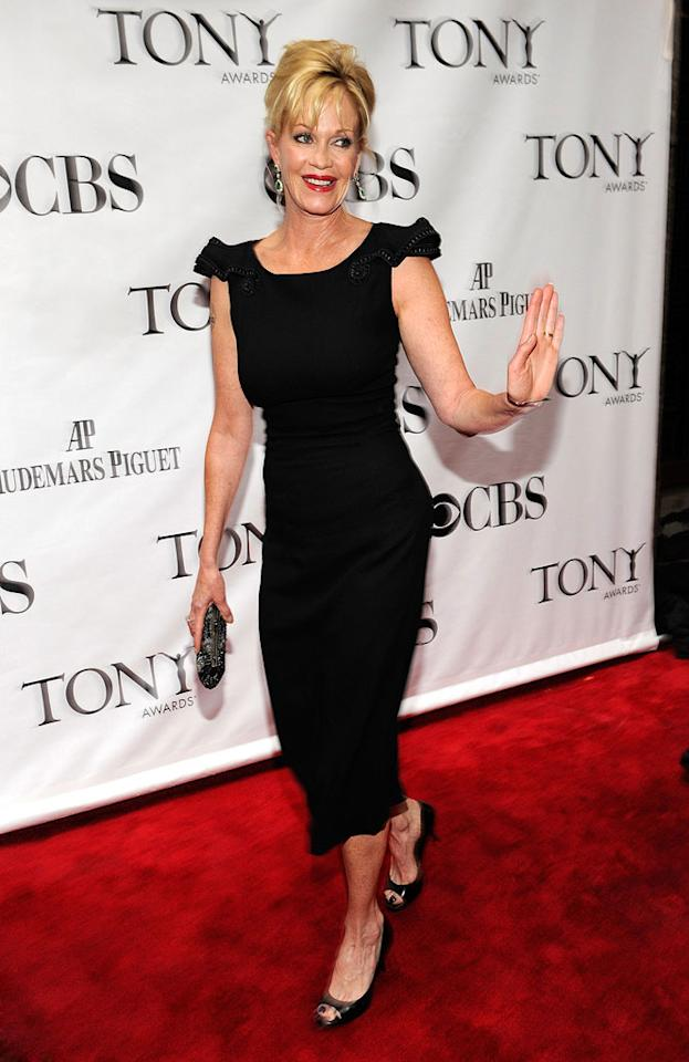 """August 9 is also special for """"Working Girl"""" star Melanie Griffith, who turns 53. Kevin Mazur/<a href=""""http://www.wireimage.com"""" target=""""new"""">WireImage.com</a> - June 13, 2010"""