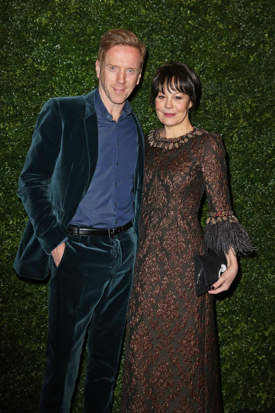 Damian Lewis and Helen McCrory (Photo: Isabel Infantes - PA Images via Getty Images)