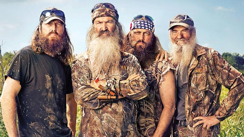 """<a href=""""https://www.spirithalloween.com/product/adult/mens/all-mens/adult-willie-costume-duck-dynasty/pc/682/c/683/sc/4255/70265.uts?currentIndex=648&thumbnailIndex=652"""" target=""""_blank"""">Get the look</a>."""